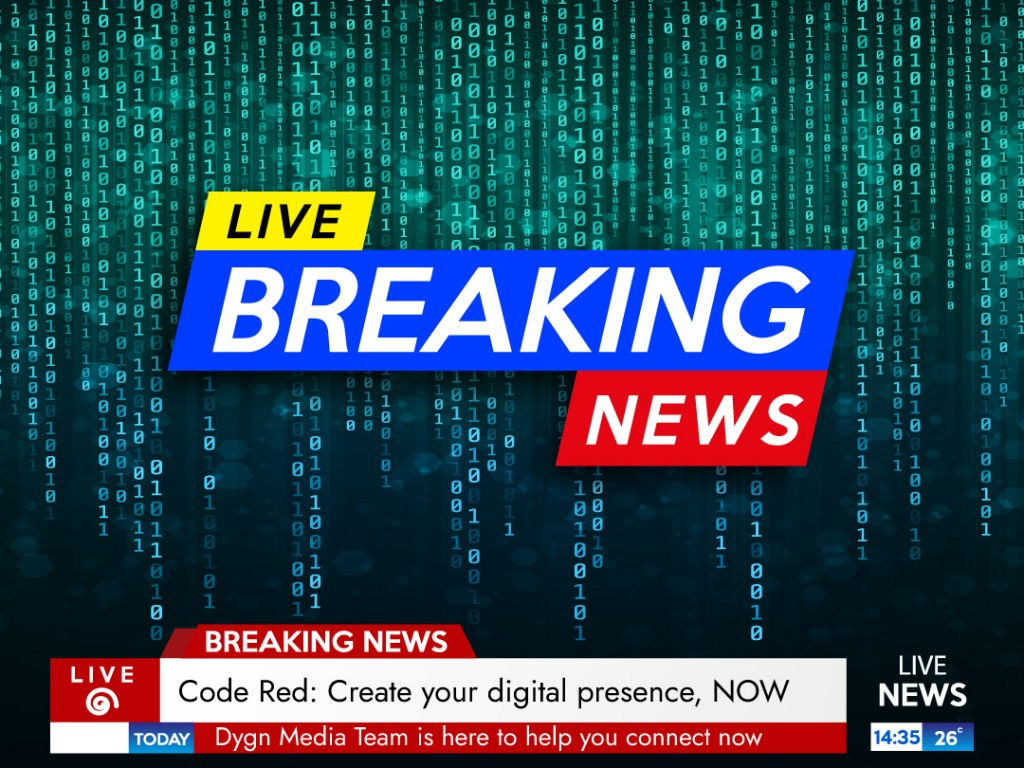 Code Red: Create Your Digital Presence, Now!